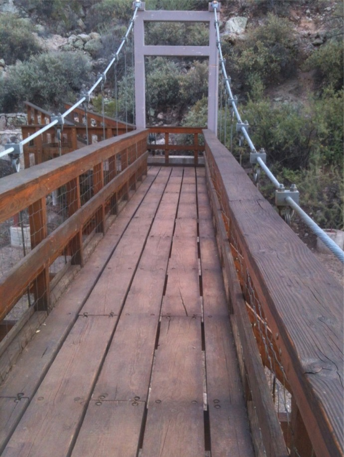 bridge over Queen Creek