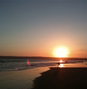 Sunset on Coronado Island, San Diego, California