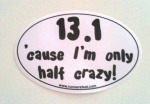 The bumper sticker I bought for my cousin which inspired the title for this post.