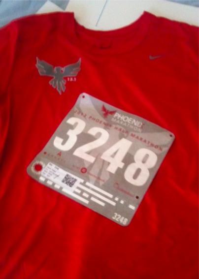 Phoenix Marathon 2013 t-shirt