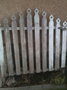 An old wooden gate that I fell in love with, but can't seem to find anything to write about it.