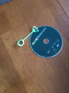 Items found inside a non-working DVD player. Any idea why it wasn't working?
