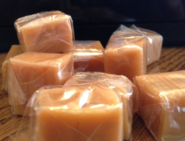Brach's Carmels, the perfect accompaniment to the lowly, lovely apple.