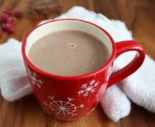 Nothing else warms me quite like a cup of Hot Chocolate with hazelnut.