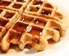 Oooo….waffles.