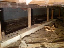 My crawl space was darker and not so luxurious as this one.