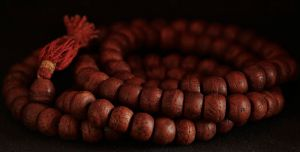 Buddhist prayer beads By Аркадий Зарубин (Own work) [CC-BY-SA-3.0 (http://creativecommons.org/licenses/by-sa/3.0)], via Wikimedia Commons
