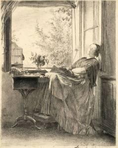 Original art by Adolph Menzel - http://www.villa-grisebach.de/
