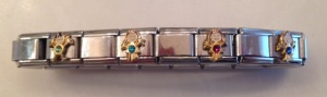 Birthstone bracelet with all four of you.