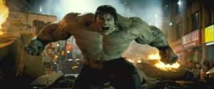 The Incredibly Green Hulk, temper tantrum personified.
