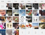 One month snapshot of from my Gratitude App.