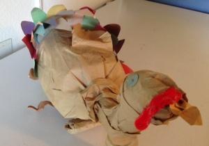 Scrappy Turkey's seen better days.