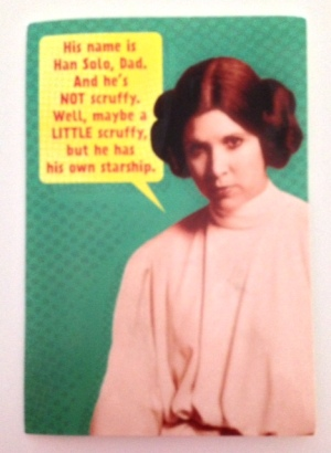 Princess Leia rocks!