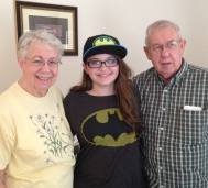 My favorite teen with my favorite parents.