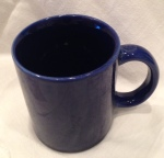 A solid, deep blue basic. My go to mug.