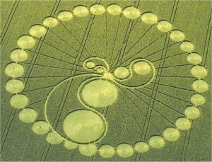 Groovy crop circle. Not my missing groove though. Photo by Cropoilbrush (Own work) [CC BY-SA 3.0], via Wikimedia Commons